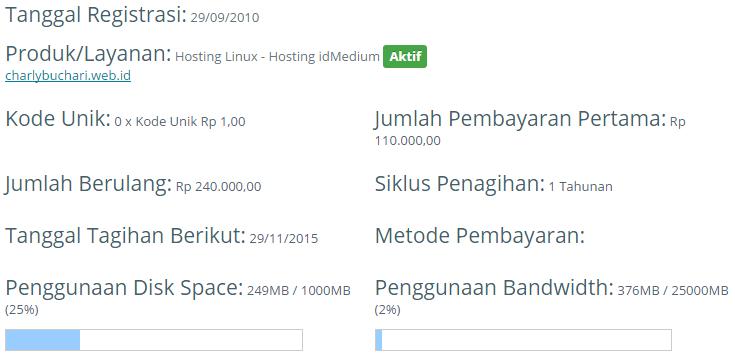 hosting blog web id